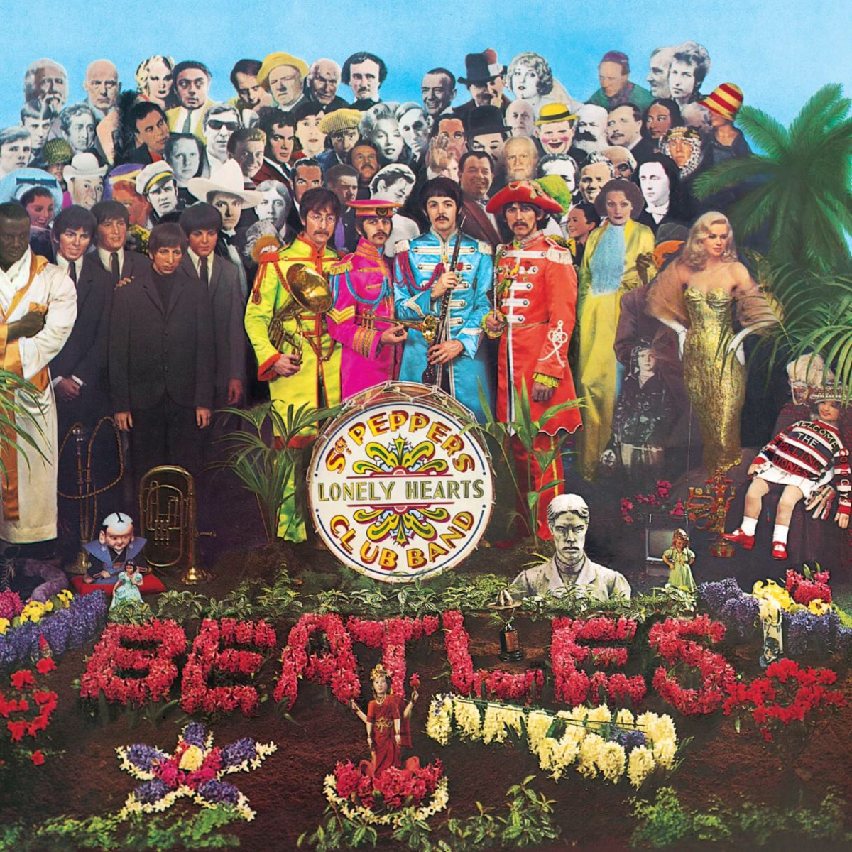 Sgt. Pepper's Lonely Hearts Club Band cover.