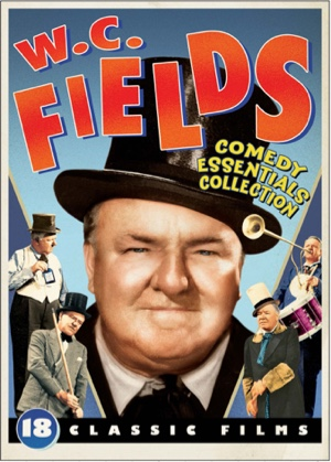 Playing up the comedy aspect showing Fields in top hats while simultaneously giving it a retro style.