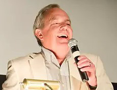 Ron Fields speaking at the W.C. Fields Festival, Film Forum, New York, April 22, 2011.
